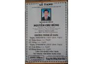 Ass. Prof. Nguyen Chu Hung passed away at 20:00 on 24/2/2016